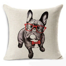Load image into Gallery viewer, Party Pug Pillow Case