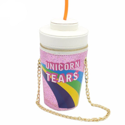 Unicorn Tears Milkshake Shoulder Handbag