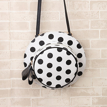 Mara's Dream 2017 Fashion Hat Backpack Dots Cute Hat Shape Backpack Inclined Shoulder Bag Personality Popular Mochilas Femininas
