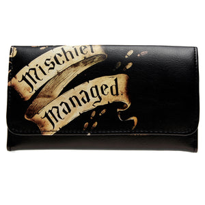Harry Potter Mischief Managed Flap Wallet