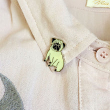 Load image into Gallery viewer, Pug Brooch - FREE S&H
