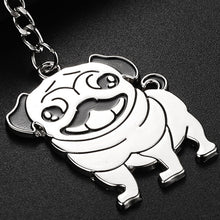Load image into Gallery viewer, Pug Pendant Necklace - FREE + S&H