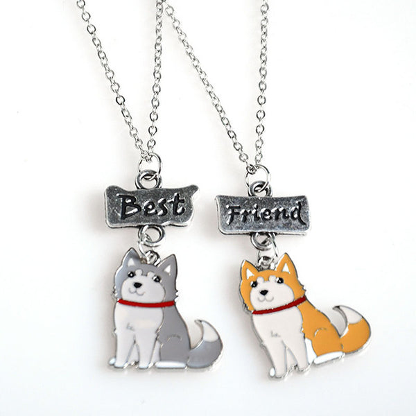 Pug Best Friends Necklace - FREE + S&H