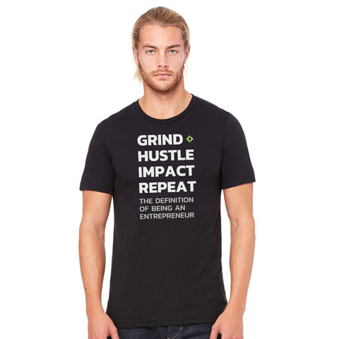 Grind Hustle Impact Repeat Tee