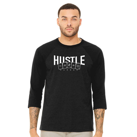 F5 Hustle Baseball Tee