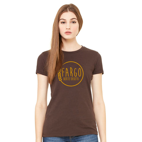 Fargo Wheat Ladies T-Shirt