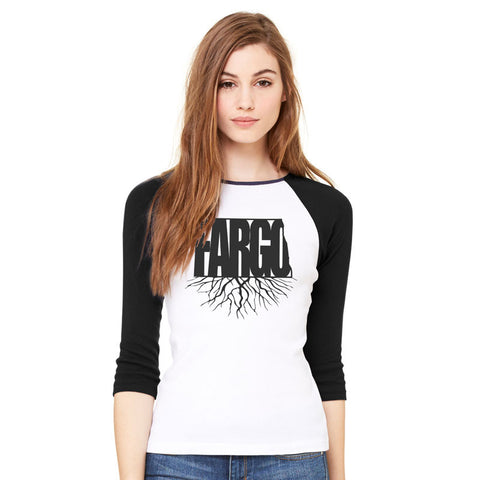 Fargo Roots Ladies Baseball Shirt