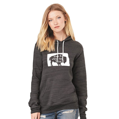 Home is Where the Herd is Hooded Sweatshirt