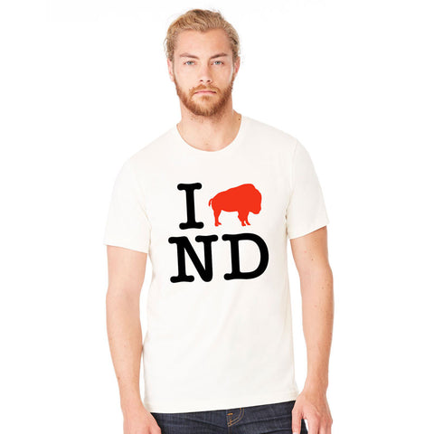 I Love ND T-Shirt