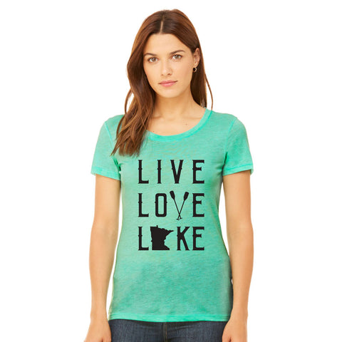 Live Love Lake Ladies Tee