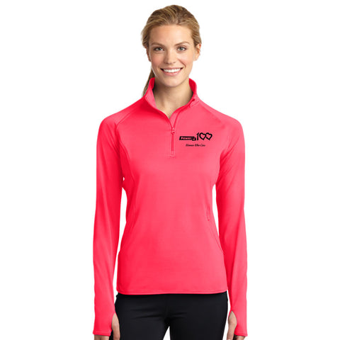 Power of 100 Ladies 1/2-Zip Pullover