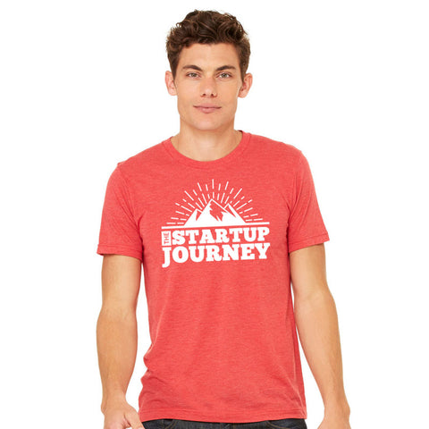 The Startup Journey Red Tee