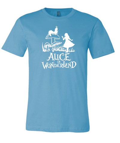 Alice in Wonderland Official Show Tee
