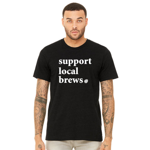 Support Local Brews Tee