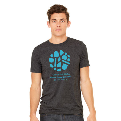 NDFBSA Circle Logo Adult Triblend Tee