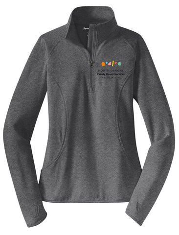 NDFBSA Ladies Quarter-Zip Pullover