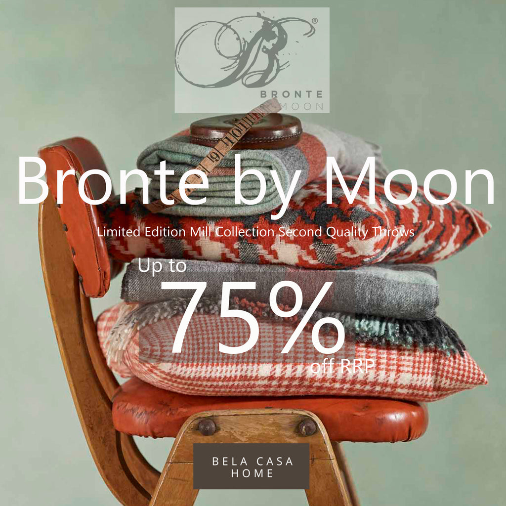 Limited Edition Bronte By Moon Throws
