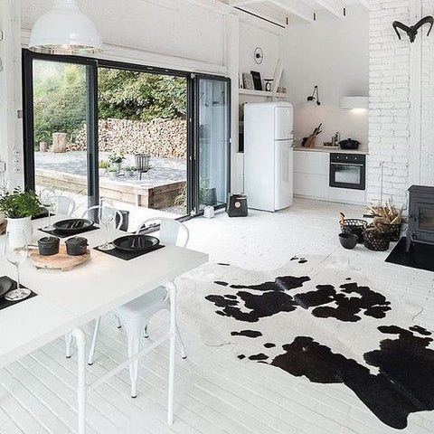 Cowhide in the Kitchen
