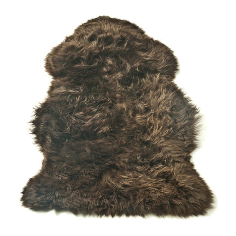 Natural Chocolate Premium Sheepskin XL Single Rug