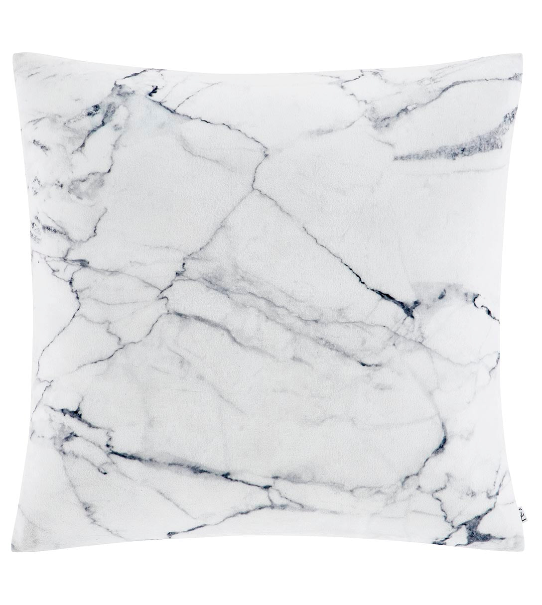 Marble Cushion Cover Grey