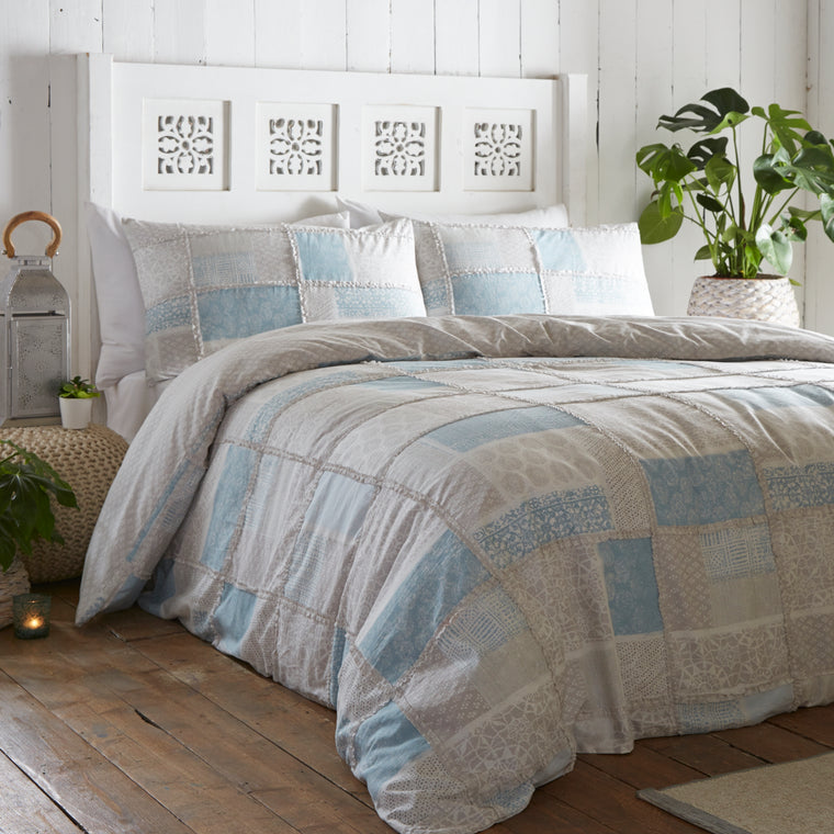 Surat Blue Duvet Cover Set