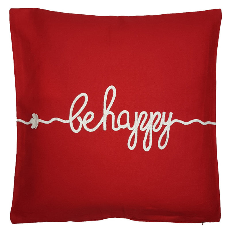 One Of A Kind Be Happy 50x50cm Cushion