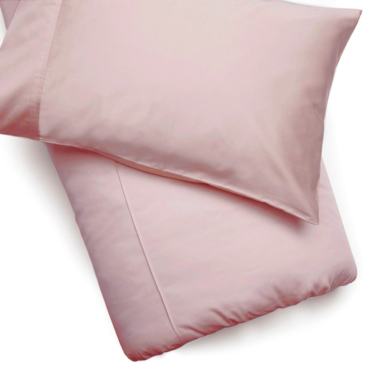 Plain Pink Cotton 200 TC Duvet Cover