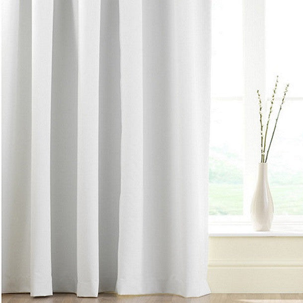 White Thermal Blackout Curtain Linings