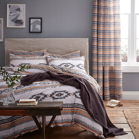 Casa Home Tribal Orange Duvet Cover