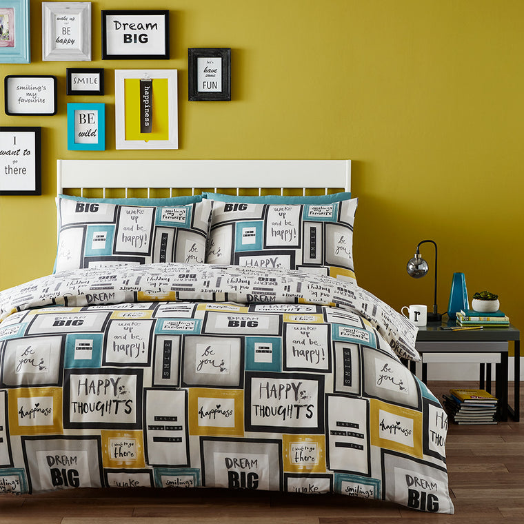 Dream Big Duvet Set - Multi