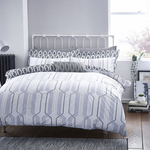 Cotton Casa My Space Grey Duvet Cover