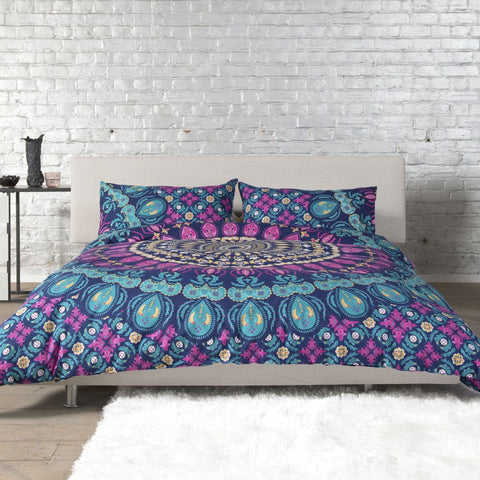 DB & Me My Mandala Cotton Duvet Cover