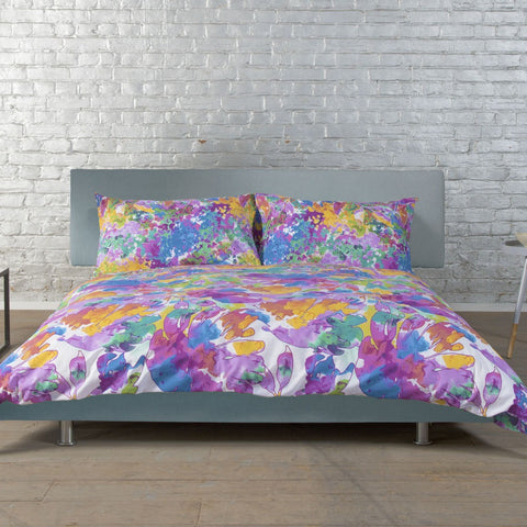 DB & Me Super Floral 100% Cotton Duvet Cover and Pillowcase Set