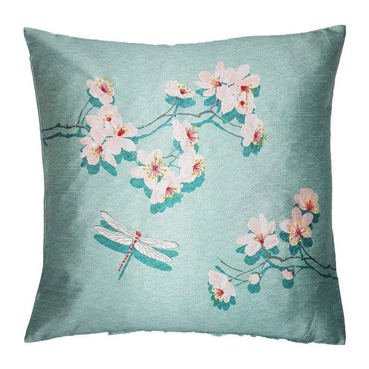 One Of A Kind Delicate Wild Flower 43x43cm Cushion