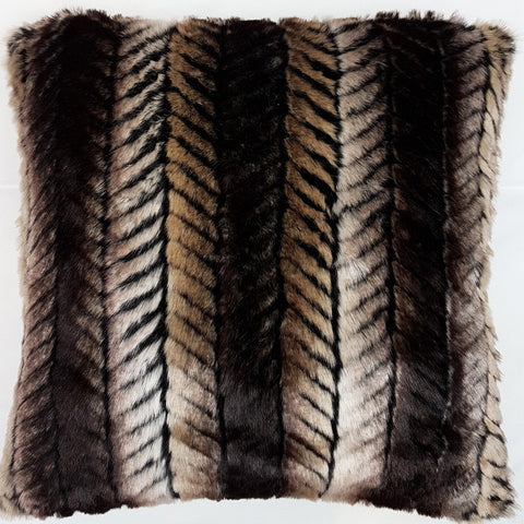 One Of A Kind Faux Fur 45x45cm Cushion