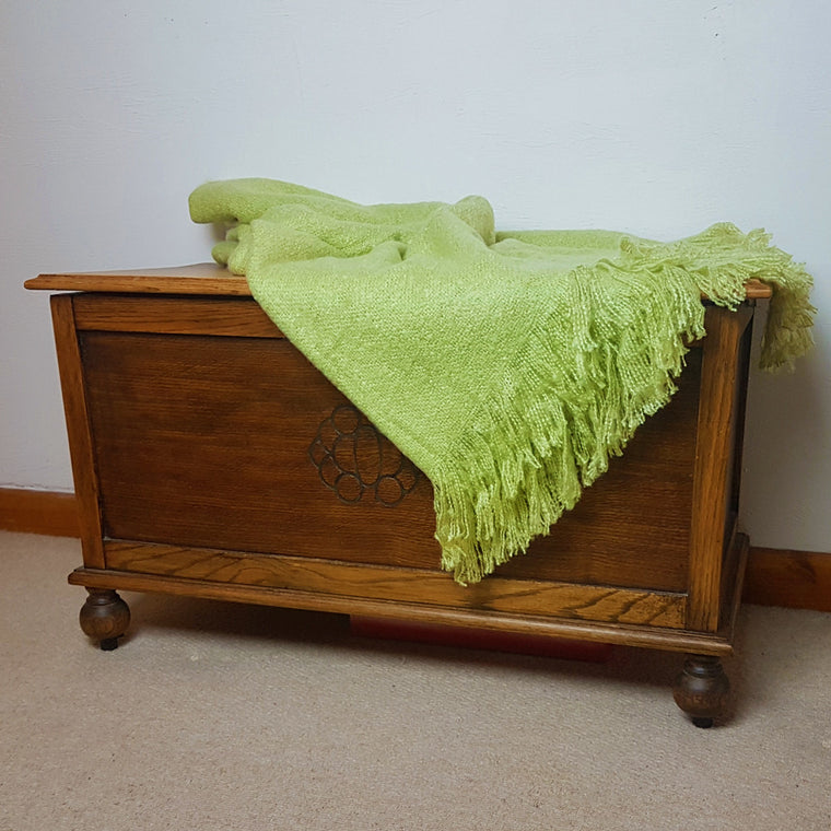 Serene Alexa Lime Throw - 130 x 180cm