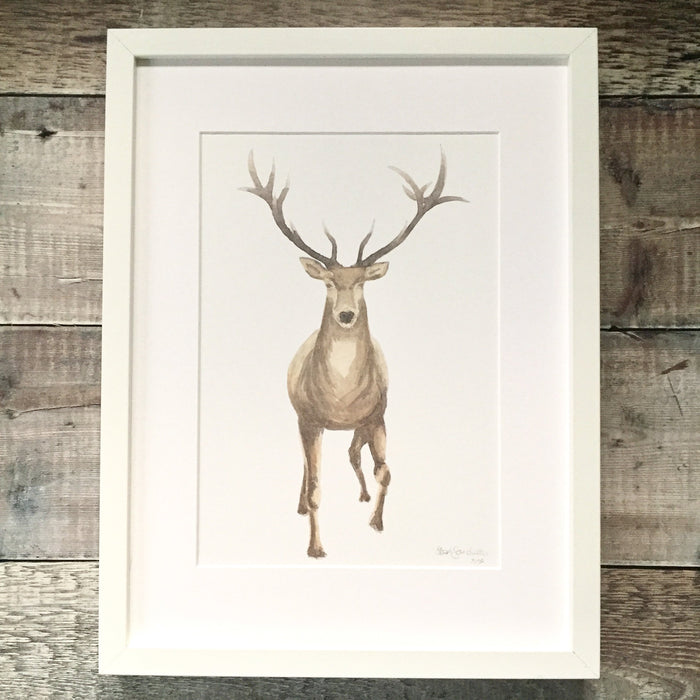Stag Print Majestic A5
