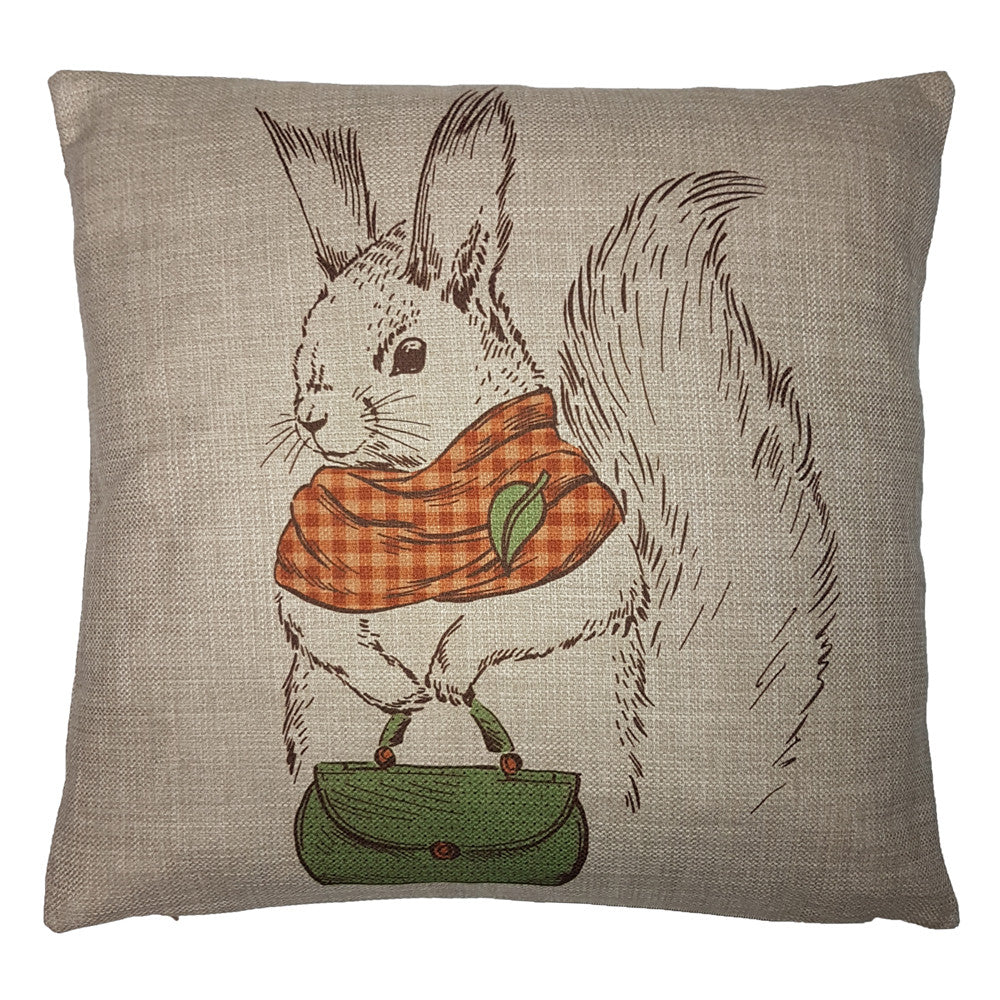 One Of A Kind Mrs Squirrel 43x43cm Cushion