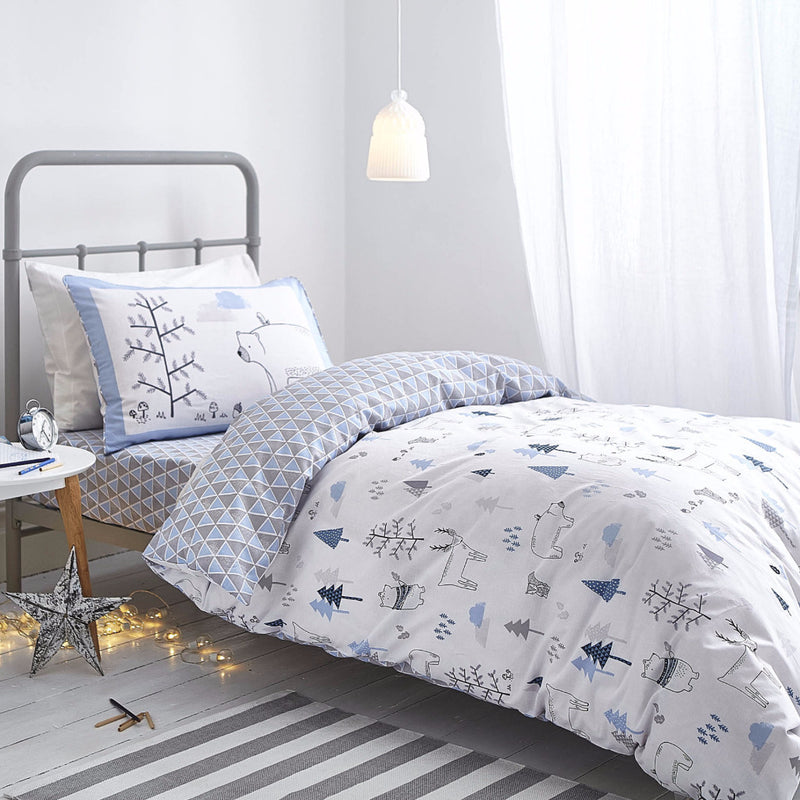 Bela Casa Home Boys Blue Nordic Luxury Bedding