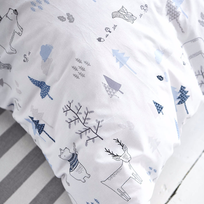 Bela Casa Home Boys Blue Nordic Luxury Bedding Set