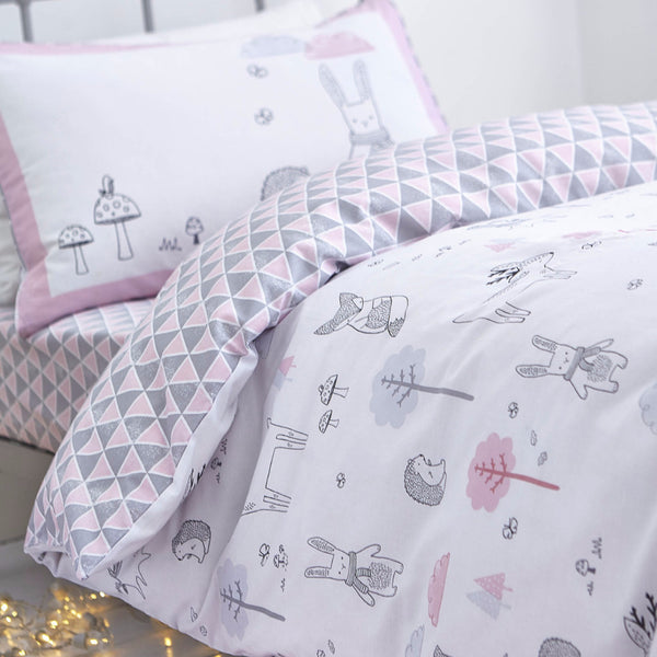 Bela Casa Home Nordic Pink Luxury Childrens Bedding
