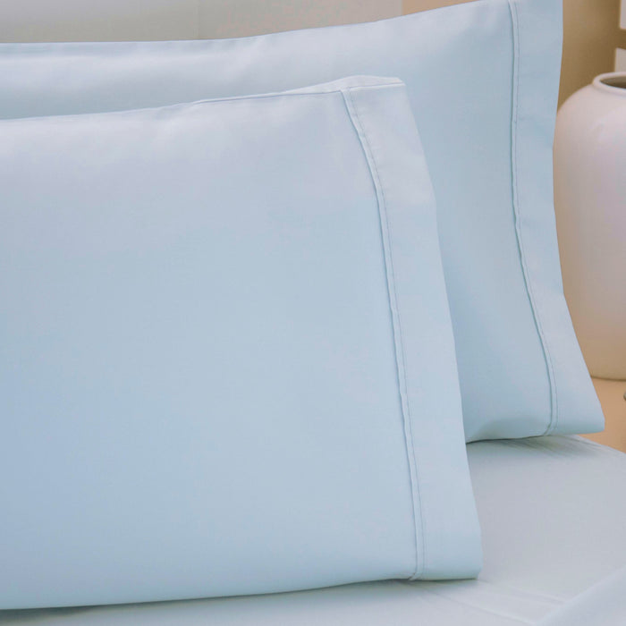Ocean Blue Egyptian Cotton Sheets 200 TC