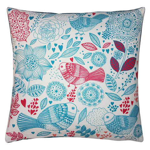 One Of A Kind Boutique Birds 43x43cm Cushion