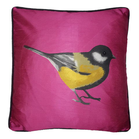 One Of A Kind Great Tit Bird 43x43cm Cushion