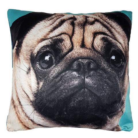 One Of A Kind Pretty Pug 43x43cm Cushion