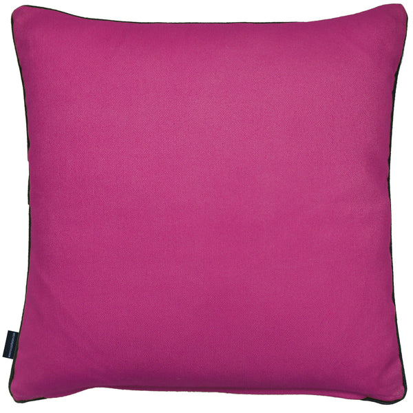 Rocco Zig Zag Berry 43 x 43cm Filled Cushion