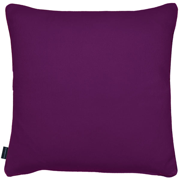 Rocco Motion Purple 43 x 43cm Filled Cushion