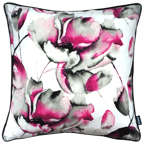 Rocco Lotus Flower Pink 43 x 43cm Filled Cushion