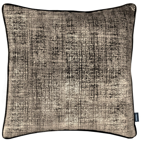 Rocco Aura Urban Metallic Gold 43 x 43cm Filled Cushion