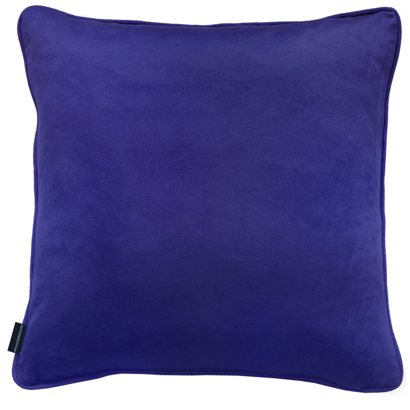Rocco Flora Water Colour Blue 43 x 43 cm Filled Cushion